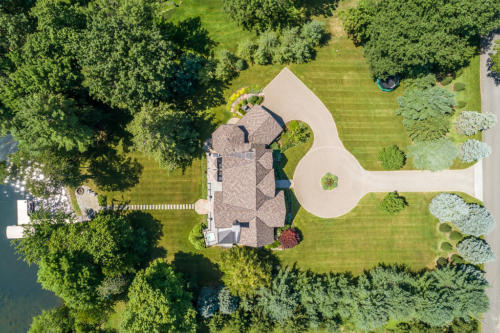Overhead Drone Shot of Property-1.27 Acres