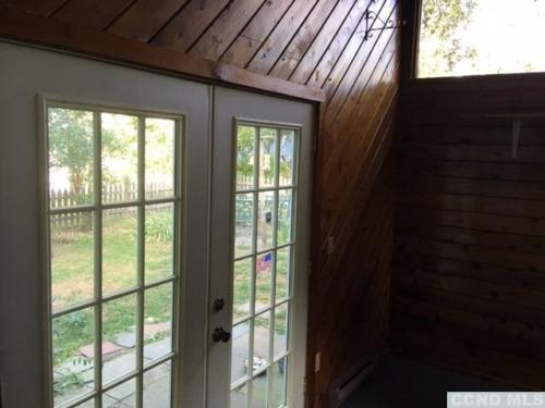 5 - View out to patio